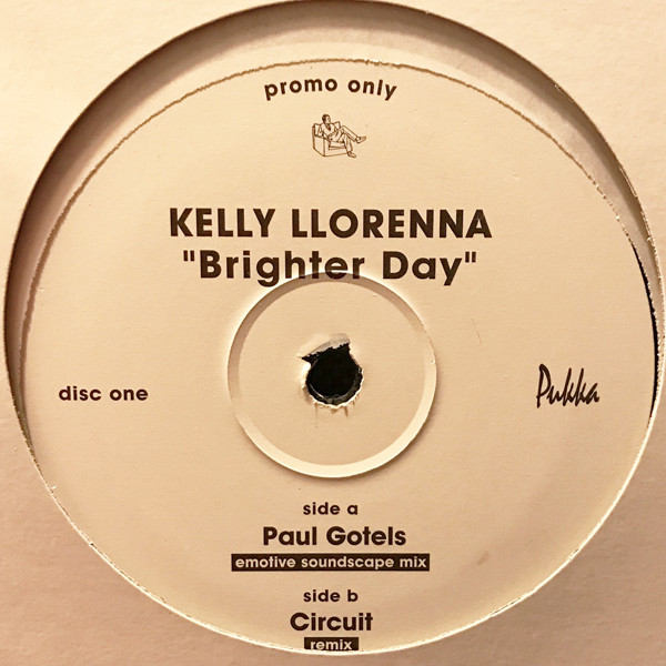 KELLY LLORENNA - BRIGHTER DAY (DISC 1) - Maxi x 1