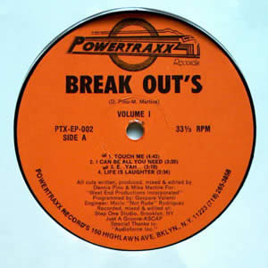 DENNIS PINO AND MIKE MARTIRE - BREAK OUTS VOLUME 1