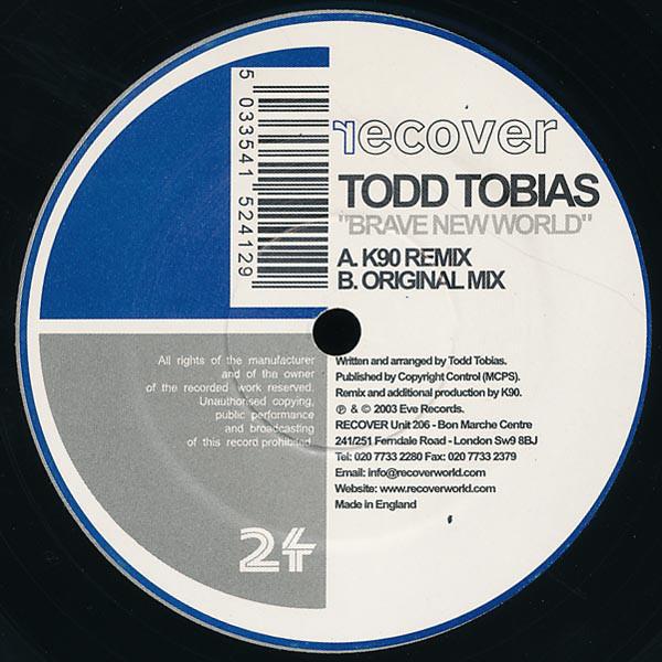 TODD TOBIAS - BRAVE NEW WORLD