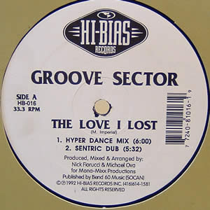 GROOVE SECTOR - THE LOVE I LOST