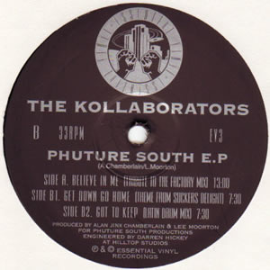 THE KOLLABORATORS - PHUTURE SOUTH EP