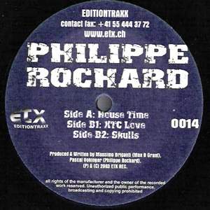 PHILIPPE ROCHARD - HOUSE TIME
