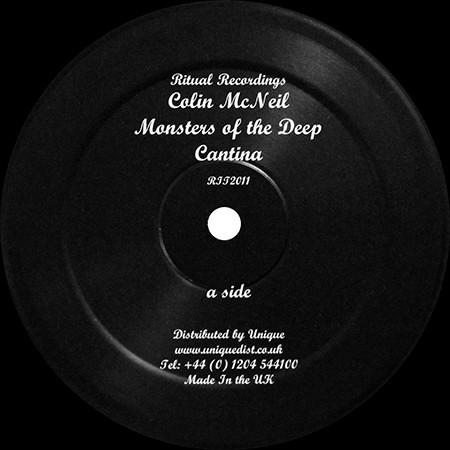 COLIN McNEIL - MONSTERS OF THE DEEP / CANTINA