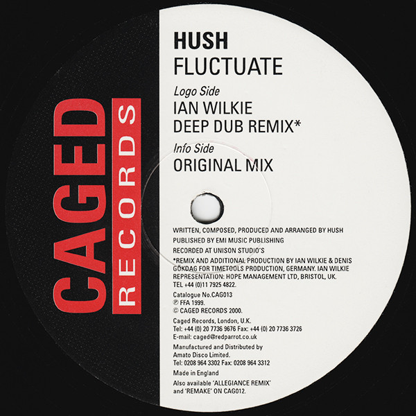 HUSH - FLUCTUATE
