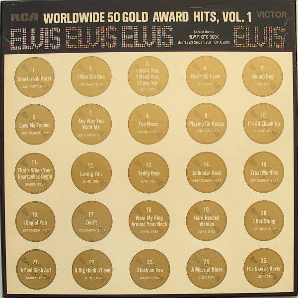 Elvis - Worldwide 50 Gold Award Hits, Vol. 1