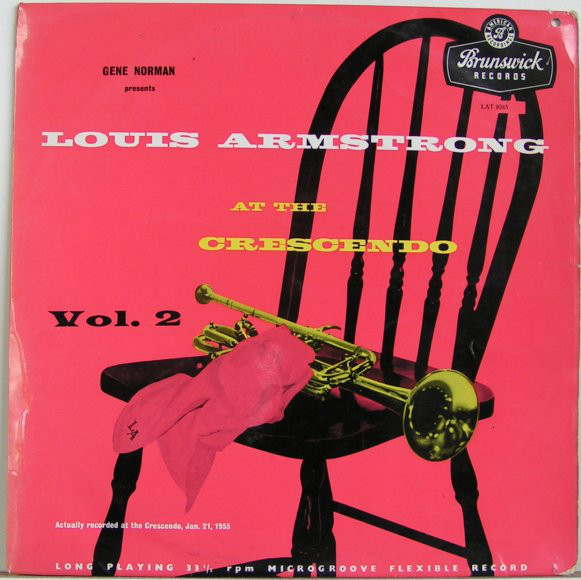 Louis Armstrong And His All-Stars - At The Crescendo Vol. 2