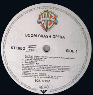 Boom Crash Opera - Boom Crash Opera