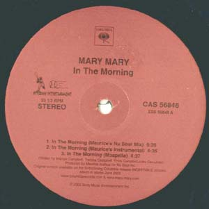 Mary Mary - In The Morning