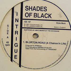 SHADES OF BLACK / ANDROMEDA - BLURTON ROAD / DANCE EVERYBODY DANCE