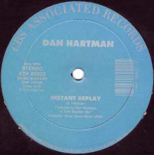Dan Hartman - Instant Replay / Vertigo/Relight My Fire