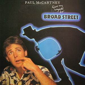 Paul McCartney - Give My Regards To Broad Street Record