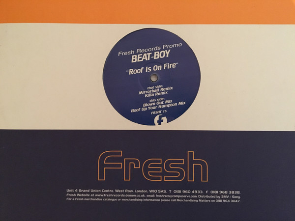 BEAT-BOY - ROOF IS ON FIRE (REMIXES)