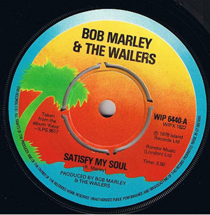 BOB MARLEY & THE WAILERS - Satisfy My Soul / Smile Jamaica