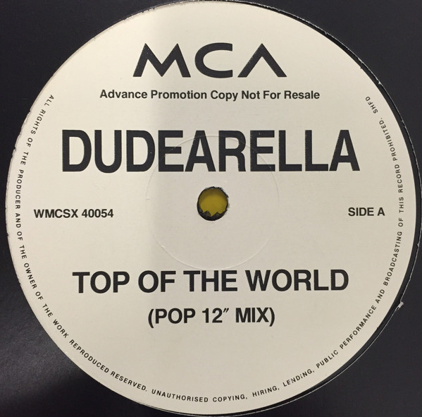 Dudearella - Top Of The World