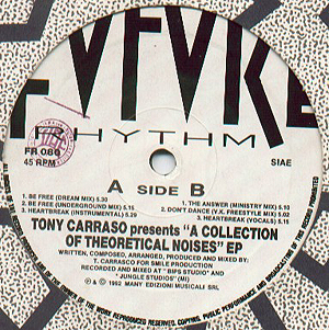Tony Carrasco - A Collection Of Theoretical Noises EP