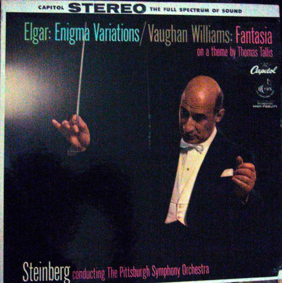 Elgar/ Vaughan-williams - Enigma Variations/ Fantasia On A Theme By Tallis