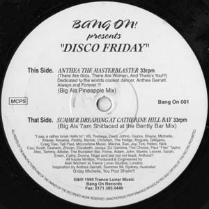 Disco Friday - Anthea The Masterblaster
