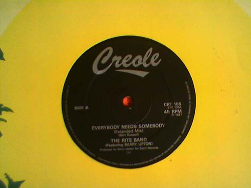 Rite Band, The - Everybody Needs Somebody/Heavy Heavy