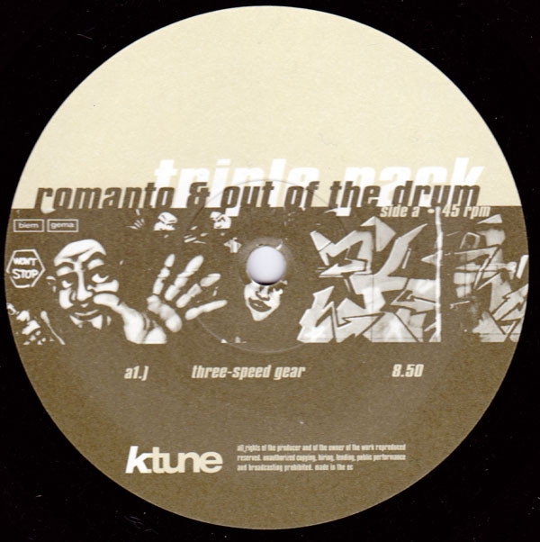 Romanto & Out Of The Drum - Triple Pack