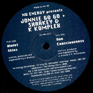 Johnny Go Go / Sharkey & K-Komplex - Violet Skies / One Consciousness