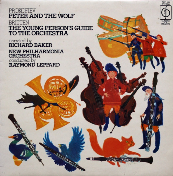 Prokofiev, Britten - Peter And The Wolf