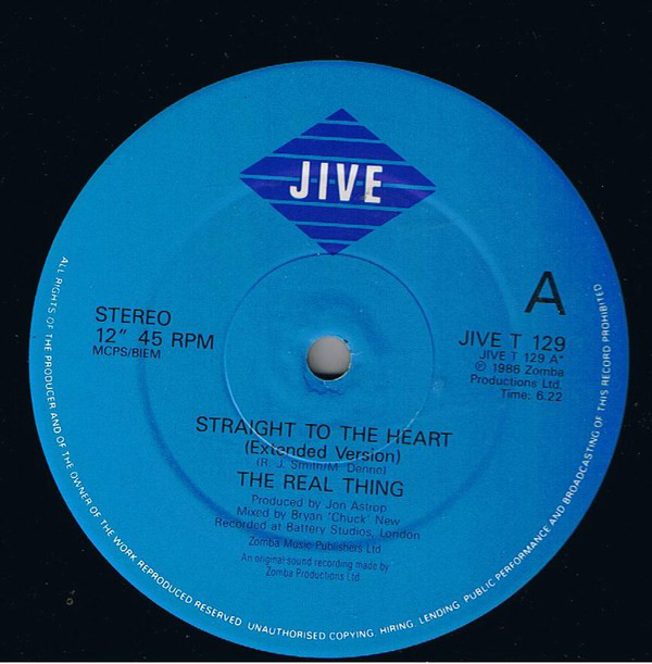 Real Thing, The - Straight To The Heart
