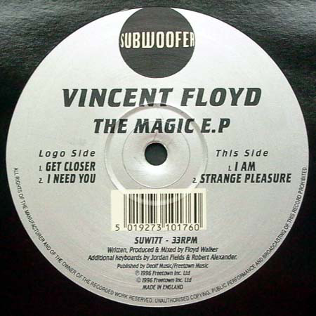 Vincent Floyd - The Magic E.P