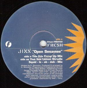 JINX - OPEN SESAMEE