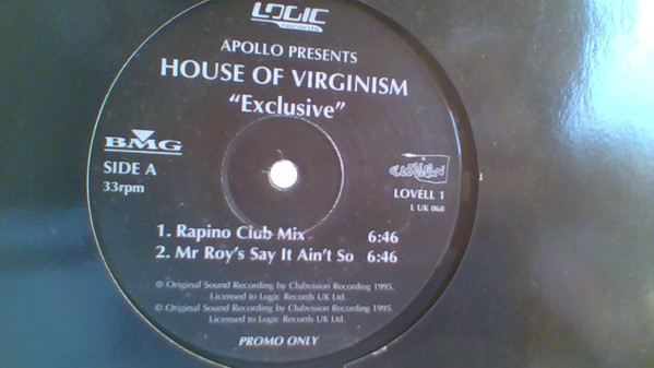 HOUSE OF VIRGINISM - EXCLUSIVE (PROMO)