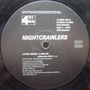 NIGHTCRAWLERS - LIVING INSIDE A DREAM