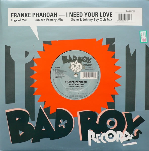 Franke Pharaoh - I Need Your Love