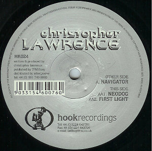 Christopher Lawrence Navigator 13107 187 Lawrence 187 Vinyl