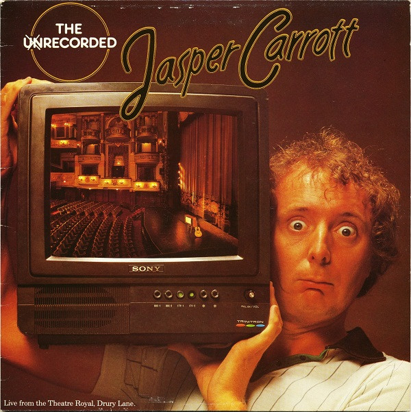 JASPER CARROTT - The Unrecorded Jasper Carrott - LP