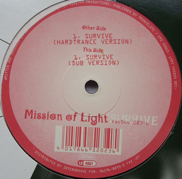 Mission Of Light - Survive