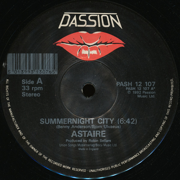 Astaire - Summernight City/Turn Me On Again/Anything Will Do