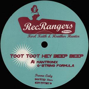 Rec Rangers Featuring Kool Keith - Toot Toot Hey Beep Beep