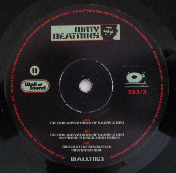 Dirty Beatniks - The New Adventures Of Sandy & Bud