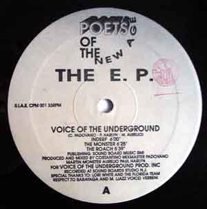 Voice Of The Underground - The E.P.