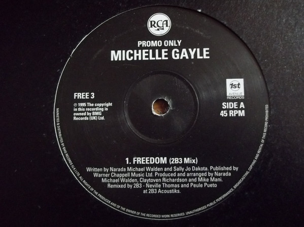 Michelle Gayle - Freedom