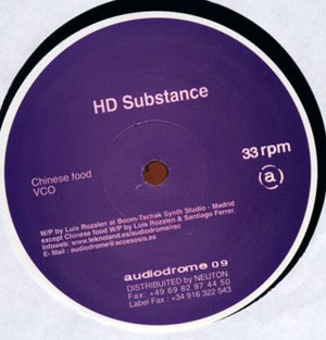 HD Substance / Daniel Erbe - Chinese Food