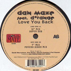 Dan Maze Feat. D*Range - Love You Back