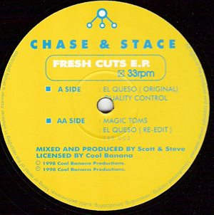 Chase & Stace - Can You Feel The Beat E.P. (The Fresh Cuts E.P)