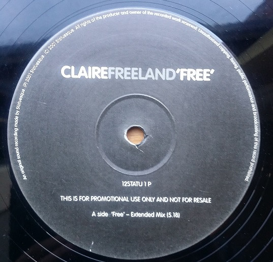 CLAIRE FREELAND - FREE