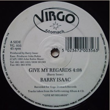 BARRY ISAAC - GIVE MY REGARDS / FRIENDS