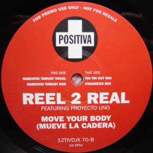 Reel 2 Real Featuring Proyecto Uno - Move Your Body (Mueve La Cadera)