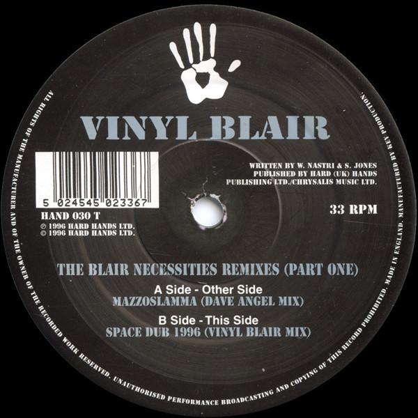 Vinyl Blair - The Blair Necessities Remixes (Part One)