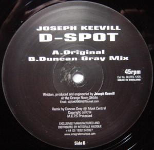 Joseph Keevill - D-Spot