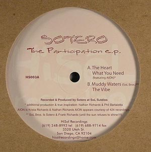 Sotero - The Participation EP