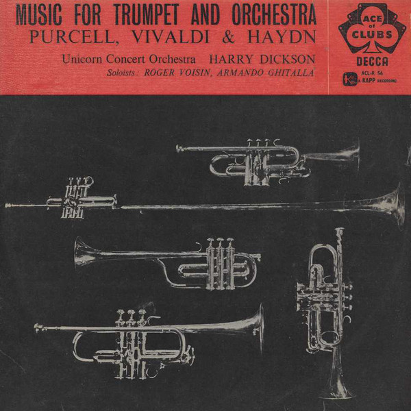 Dickson, Harry Ellis. Unicorn Concert Orchestra - Music For Trumpet And Orchestra