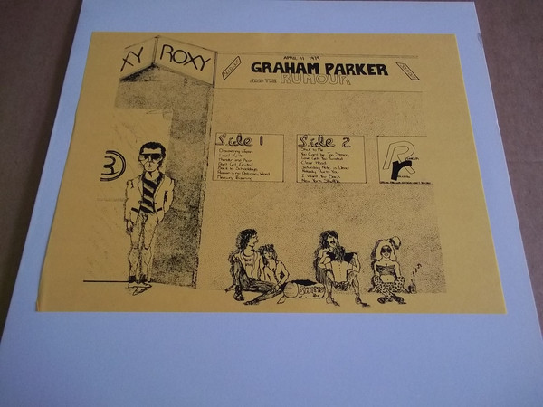 Graham Parker And The Rumour Live At The Roxy Bootleg 14789